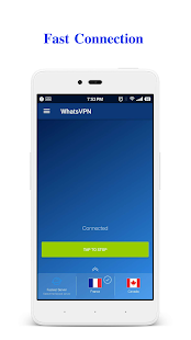 WhatsVPN - Unlimited Free VPN Screenshot