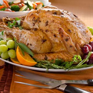 Super Moist Roasted Turkey Recipe