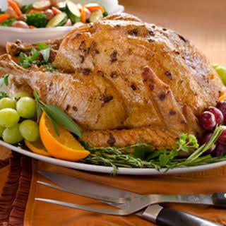 Super Moist Roasted Turkey.