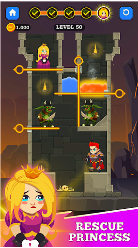 Pull Him Out Puzzle - Love Pins ! 1.0.3 screenshots 3