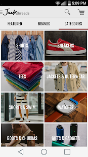 JackThreads: Shopping for Guys - screenshot thumbnail