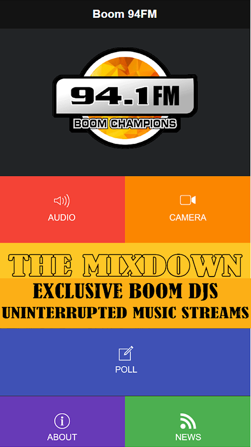 BOOM 94FM- screenshot
