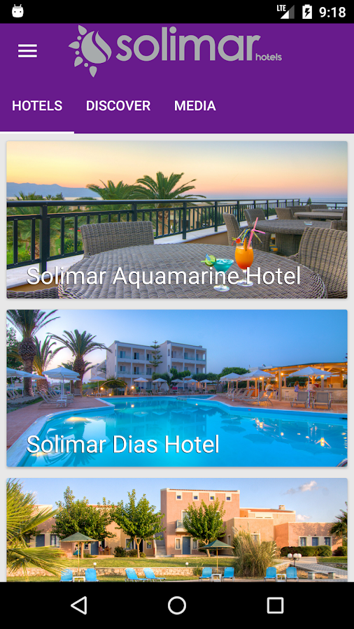Solimar Hotels- screenshot