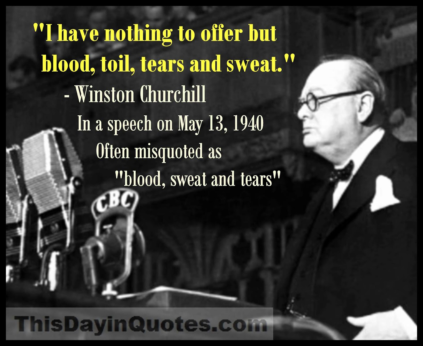 This Day In Quotes: Blood, Sweat And Tears