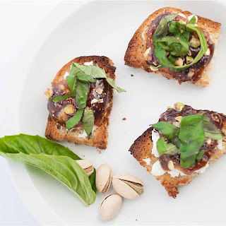 A Froment Free Goat Cheese Fig Bite