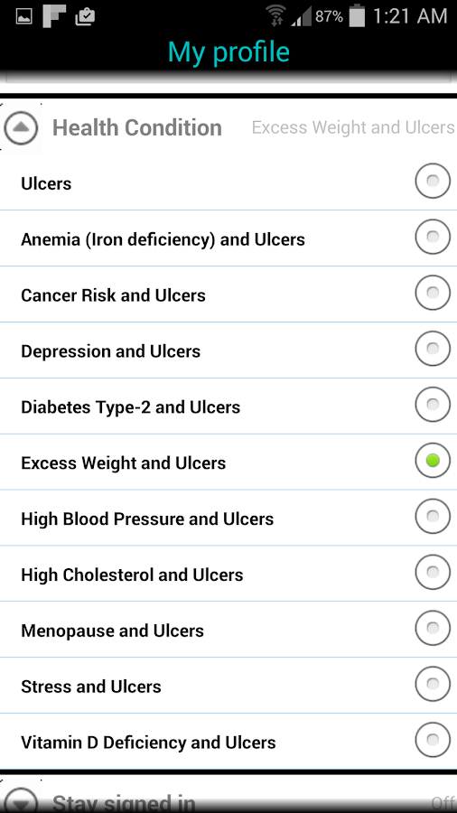 Ulcers (Peptic Ulcer)- screenshot