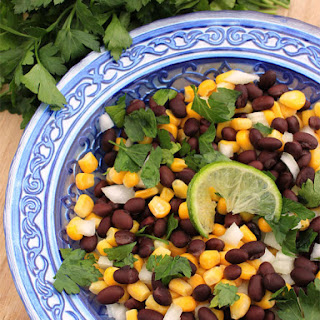 Black Bean, Mango & Jicama Salad with Honey Lime Vinaigrette