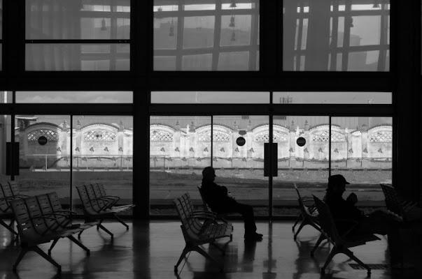 L'attesa alla stazione di Cadice di Burbera