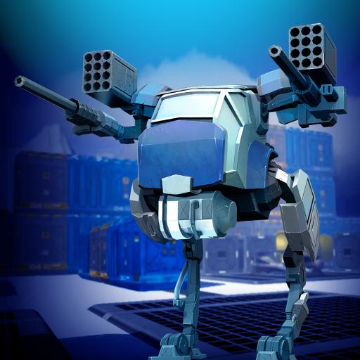 动作の墜落のロボット:アイススター LOGO-記事Game