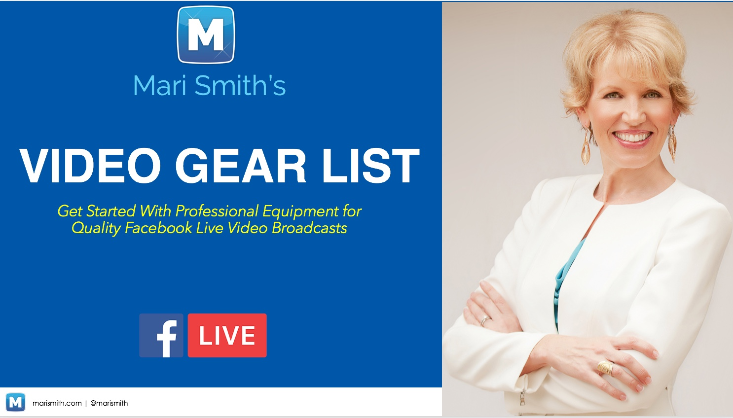 Video Gear List - Instant Download