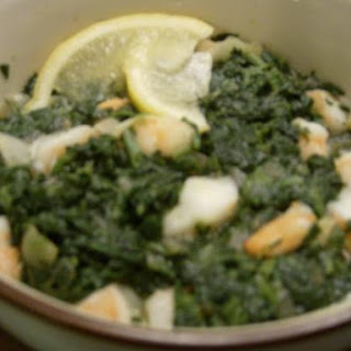Delicious Shrimp and Spinach Bowl (Lean Dinner Choice)