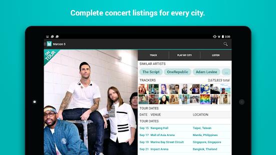 Bandsintown Concerts- screenshot thumbnail
