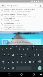 Polarity Browser-Fast/No Ads Screenshot
