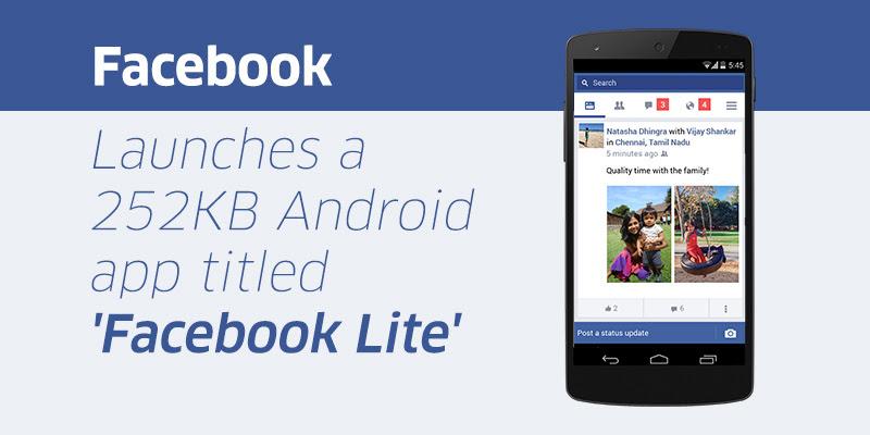 Bạn đang sử dụng Facebook lite - facebook nền web hay phiên bản chính thống ?
