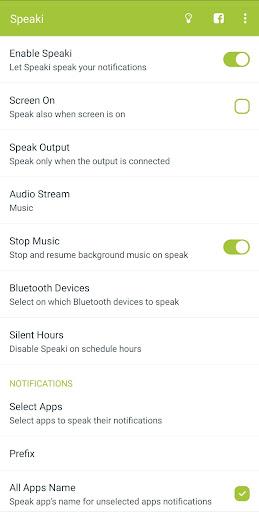 Speaki - Voice Notifications screenshots 1