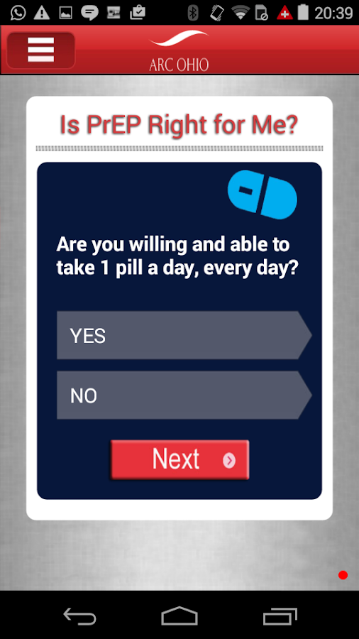 Is PrEP Right for Me?- screenshot