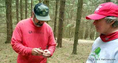 Photo: It was great to get so much knowledge from a professional forester.