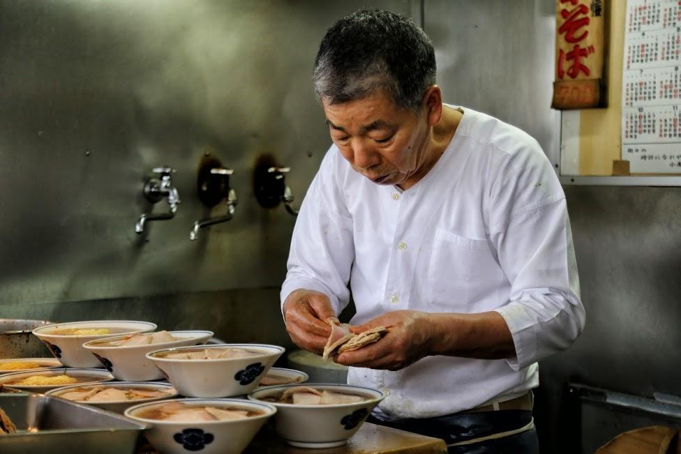 Tsukiji, Chuka Soba Inoue, ramen