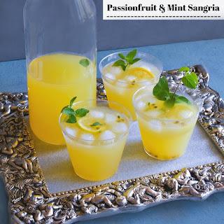 Passionfruit and Mint Sangria Recipe