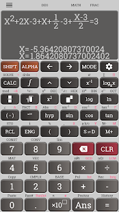 School Scientific calculator casio fx 570 es plus Screenshot