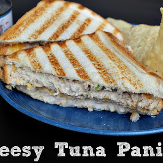 Cheesy Tuna Panini.