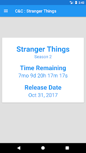Countdown/Chat Stranger Things - náhled
