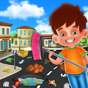 My Home City Cleaning Games: Waste Management Game