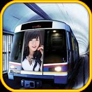 Train Subway Photo Frames