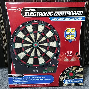 Halex 電子飛鏢遊戲 20-Games 65-Variations Electronic Dartboard Game
