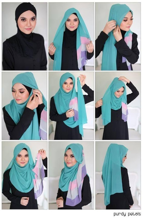Bevorzugt 125++ Hijab Fashion Tutorial - Android Apps on Google Play EA93