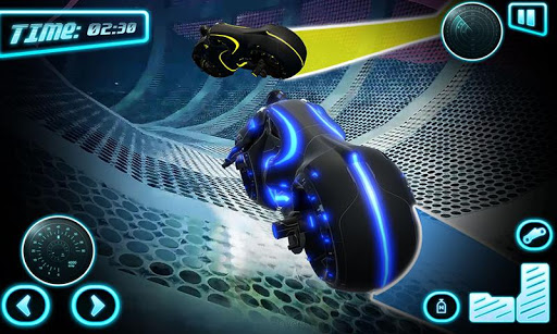 Tron Bike Stunt Racing 3d Stunt Bike Racing Games 101 gameplay | by HackJr.Pw 3