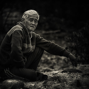 old wrinkles by Dian Anugrah - People Portraits of Men ( wrinkles, old )