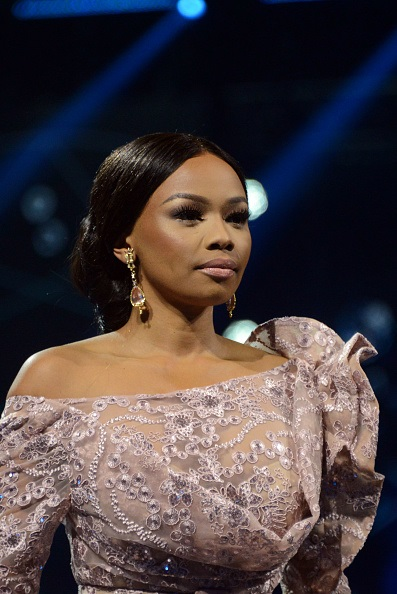 TV personality and businesswoman Bonang Matheba.