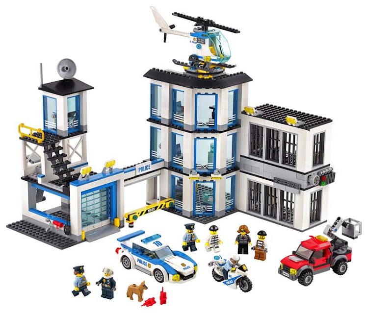 Contenido de Lego® 60141 Comisaría de Policía