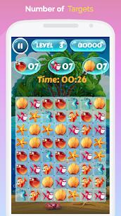 Fish World Saga – Pop, Match and Crush! 4