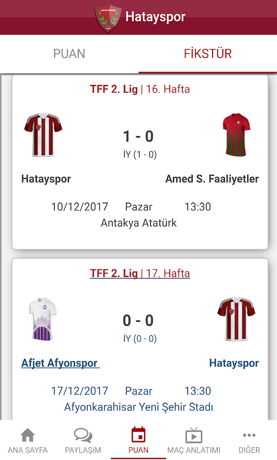 Hatayspor- screenshot