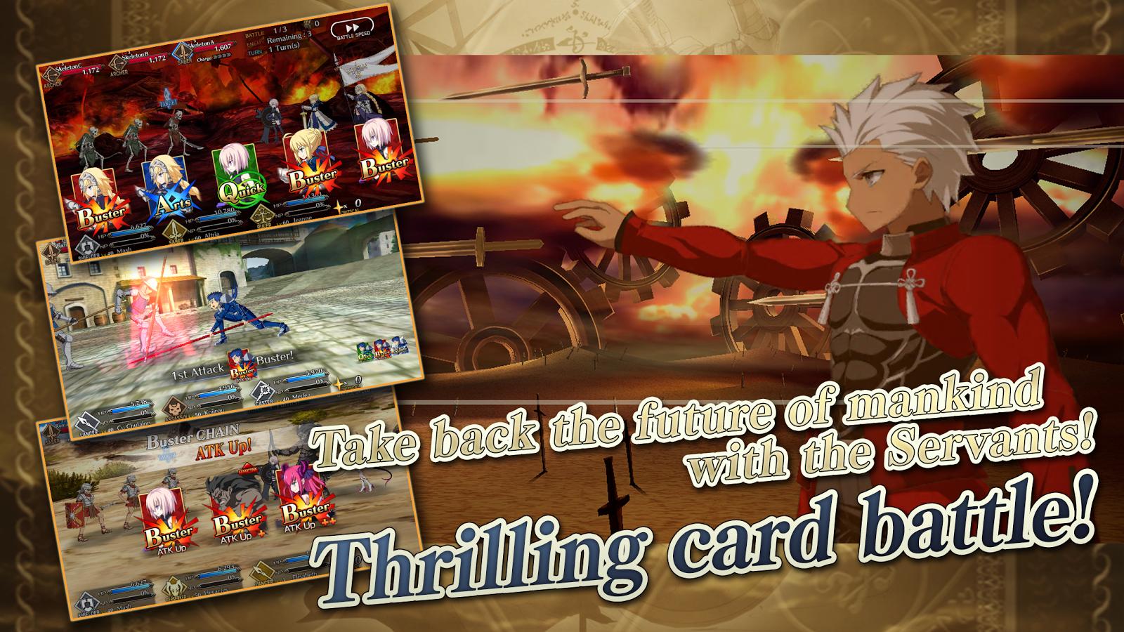 Fate/Grand Order (English) – zrzut ekranu