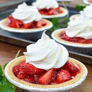Mini Strawberry Pies.
