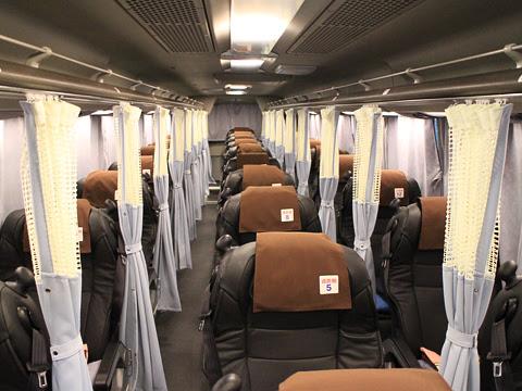 さくら観光バス「ミルキーウェイエクスプレス」CJ305便 1551 車内