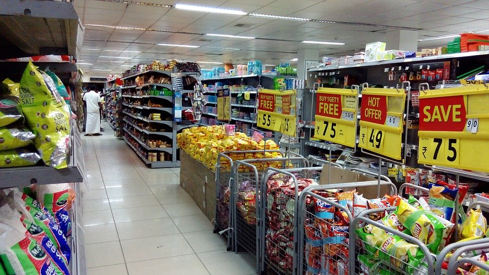 Supermarket, Shopping, Sales, Store, Buy, Shop