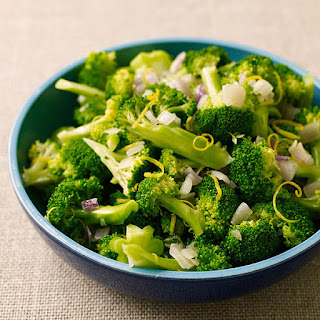Broccoli with Shallots and Lemon