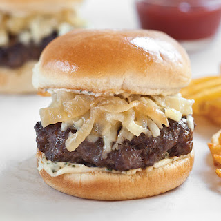 French Onion Burgers.