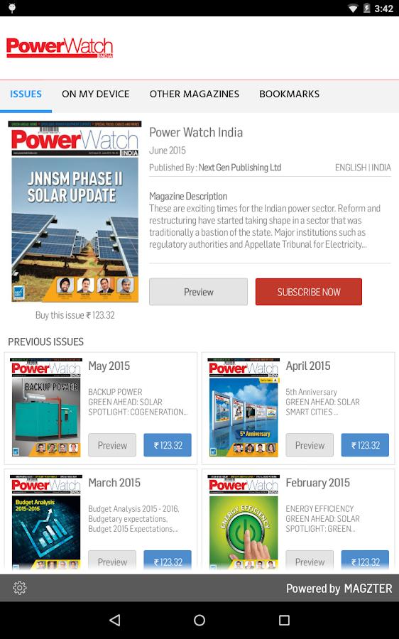 Power Watch India- screenshot