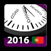 Portugal Calendário 2016 NoAds