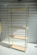 """Photo: 12"""" x 36"""", 12""""x 48"""" Deep Rivet Shelving - Complete with Shelves Starting at $60"""