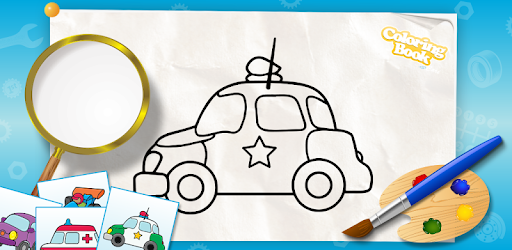 Cars coloring book for kids - Aplicacións en Google Play