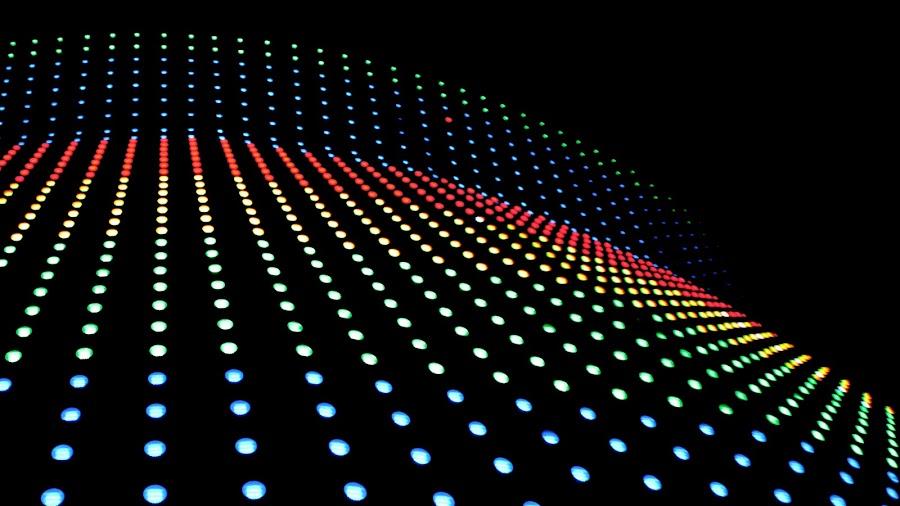 Led Lights by Kai Jian - Abstract Patterns