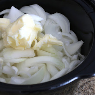 Slow Cooker Onion Soup.