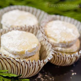 Lime Meltaway Cookies.