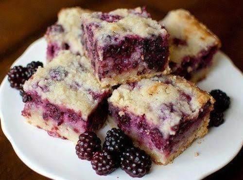 Blackberry Pie Bars Recipe